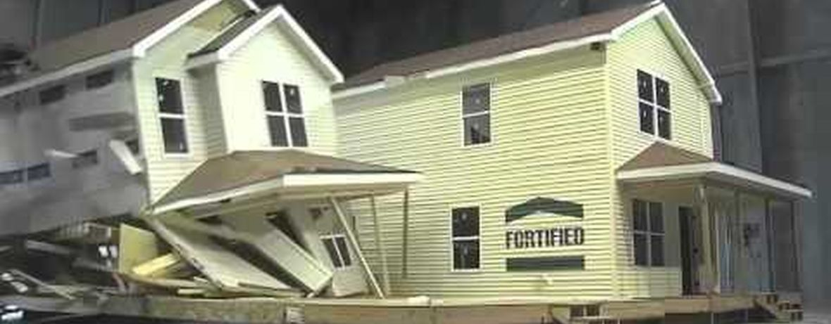 Fortified home cosntructionn