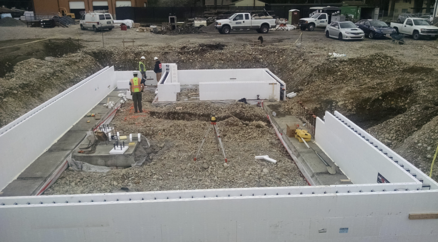 Insulated Concrete Form Foundations 5